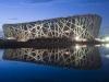Идея строительства стадиона зародилась в 2001 году, когда правительство страны объявило программу подготовки к Олимпийским играм 2008 года.  На лучший дизайнерский проект будущего стадиона объявили конкурс. Победу одержала совместная дизайнерская разработка Китайского Научно-исследовательского института архитектуры и дизайна и бюро из Швеции «Герцог де Мерон».