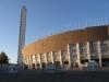 По сути, строительство стадиона происходило в 1934-1938 гг. Тойво Янти и Юрьё Линдегрен, строившие это спортивное сооружение, предпочли стиль функционализма. С тех пор хельсинкский Олимпийский стадион является одним из самых выдающихся образцов этого архитектурного направления. Он, к тому же, оказался очень живописным, не смотря на свое предназначение.