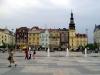 Гордостью города считается площадь Масарика на которой размещается Старая ратуша, в ней сейчас расположился Остравский музей. Тут же находится и Собор Святого Вацлава, возведенный в 13 веке. Над площадью возвышается 12-метровый столб, называемый Чумным.