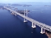 Сэто-Охаси удивителен ещё и тем, что это не единая конструкция, мост состоит из нескольких непохожих друг на друга и даже построенных по различным способам мостов.