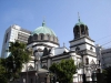 Собор был выстроен в 1891 году, но, к сожалению, без присутствия самого Николая. Церковь построили в строгом русско-византийском стиле, и он прекрасно подошел под общий колорит Токио.