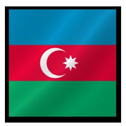 Флаг Азербайджана - Flag Azerbaijan