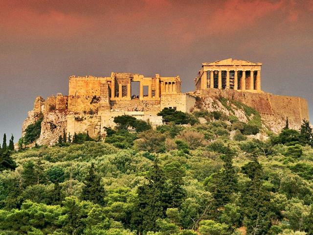 Легендарный Акрополь