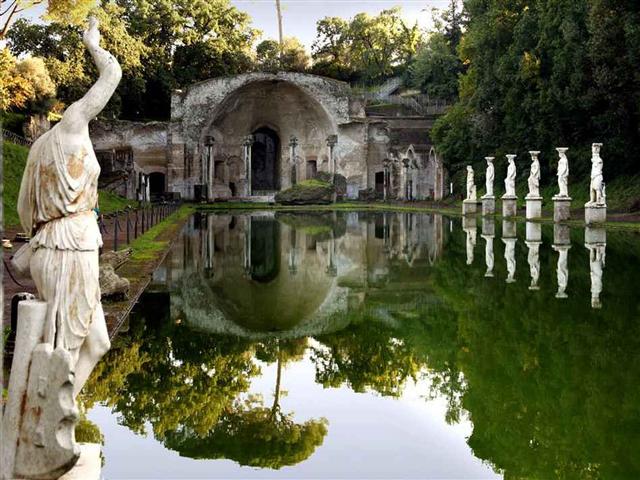 Вилла Адриана стала творением, которое сочетает в себе новейшие идеи того времени и собственный характер.