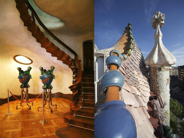 Заказчик, который обратился к гению архитектуры, хотел полностью снести старый дом, чтобы построить на его месте новый. Но Гауди знал, что даже из этого серого здания можно создать шедевр.