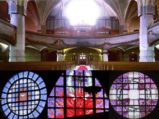 Внутри все пространство продумано до мельчайших деталей, значительно улучшая мощную акустику помещения. Также собор украшает один из самых лучших органов в Финляндии.