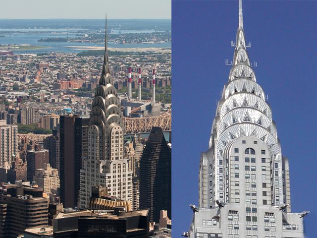 Современные архитекторы считают его одним из самых красивых нью-йоркских небоскребов. Специалисты единодушно соглашаются, что он стал классическим примером архитектурного стиля Арт Деко. Замечательны не только внушительные размеры здания, но и художественные достоинства. Билдинг строился по заказу фирмы «Крайслер»