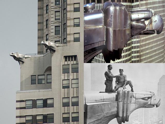 Архитектору Уильяму Ван Алену, создававшему проект, пришла в голову идея сделать небоскреб в стиле Крайслеров 20-х годов. Владельцам концерна так понравилась идея и ее воплощение, что элементы дизайна Билдинга были перенесены на некоторые модели авто.