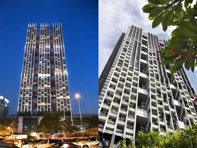 Это четвертый по высоте небоскреб страны, а среди жилых домов он самый высокий. В здании размещено 370 квартир, а высота составляет 228 метров.