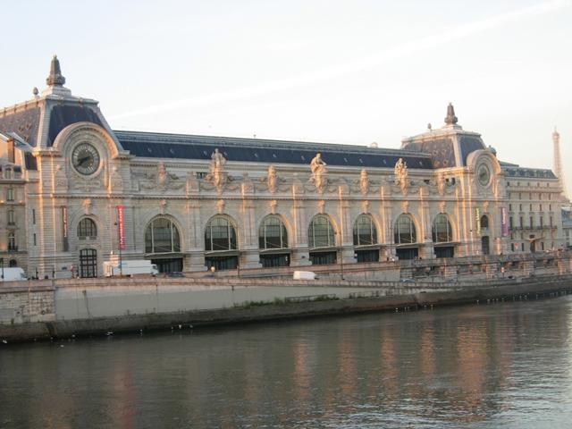 Самым большим помещением обновленного музея-вокзала стал Большой Неф, где размещаются произведения скульптуры.