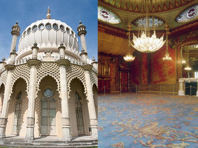изменилось, поэтому мы можем восхищаться интересной и необычной задумкой архитектора. Королевский павильон занимает достойное место в английской культуре и прекрасно вписывается в окружающий его пейзаж, несмотря на свою индийскую внешность.