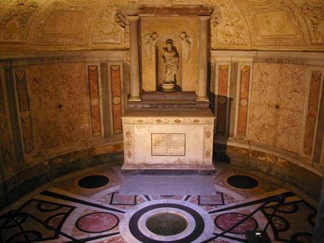 Вообще, Сан-Пьетро-ин-Монторио по собранию произведений великих живописцев может поспорить с лучшими музеями мира.