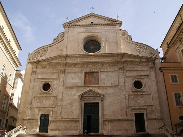 Церковь Сант-Агостино в Риме