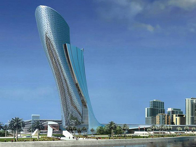 Небоскрёб в ОАЭ включает в себя 400 квартир, из которых только четверть – двухкомнатные, все остальные имеют по три комнаты.