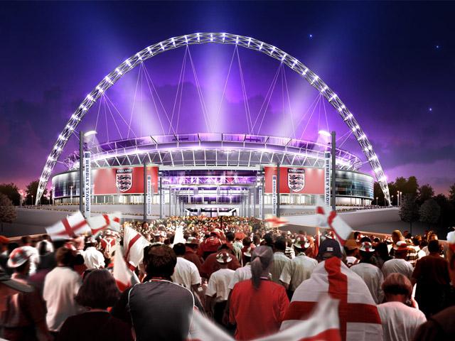 Современное строение рассчитано на девяносто тысяч зрителей. Стадион украшен огромной аркой, которую видно издалека. Болельщики всего мира, а также простые туристы с радостью посещают это современное произведение искусства.