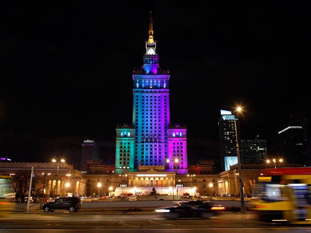 На сегодняшний день здание находится в собственности мэрии и представляет собой выставочный центр, в котором расположились кинотеатры, музеи и многочисленные торговые точки. Дворец науки и культуры привлекает туристов со всего мира, как памятник архитектуры Советских времен и как современный выставочный зал.