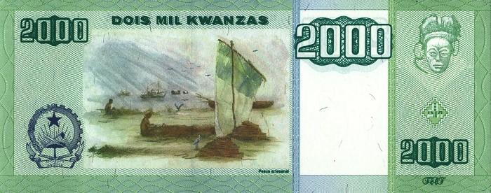 Республика Ангола - валюта Кванза