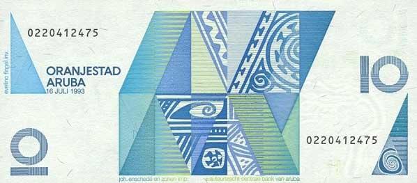Автономный Член Нидерландского Королевства Аруба - валюта Флорин