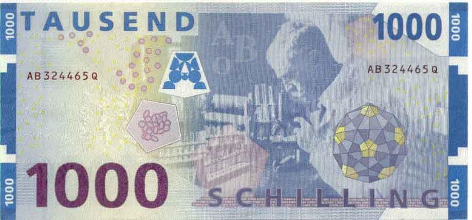 Денежная единица: Австрийский шиллинг