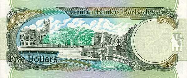 Республика Барбадос - Барбадосский доллар