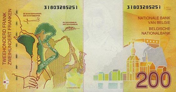 Бельгийский франк введен в 1830 г. после отделения Бельгии от Нидерландов, его золотое содержание было равно французскому франку.