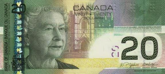 Канада валюта канадский доллар