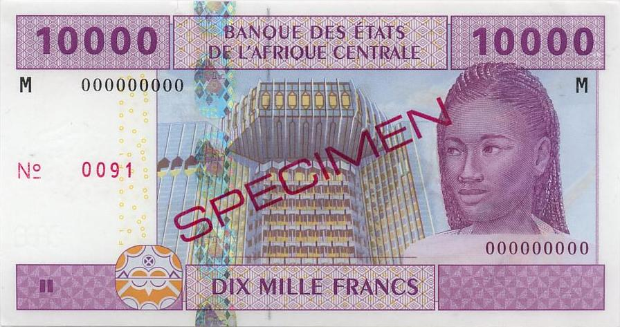 Центрально-Африканская Республика - валюта Франк КФА (ЦАР)