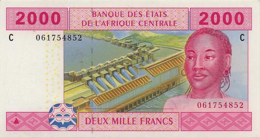 Республика Чад - валюта Франк КФА (Чад)