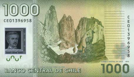 Республика Чили - валюта Чилийский песо