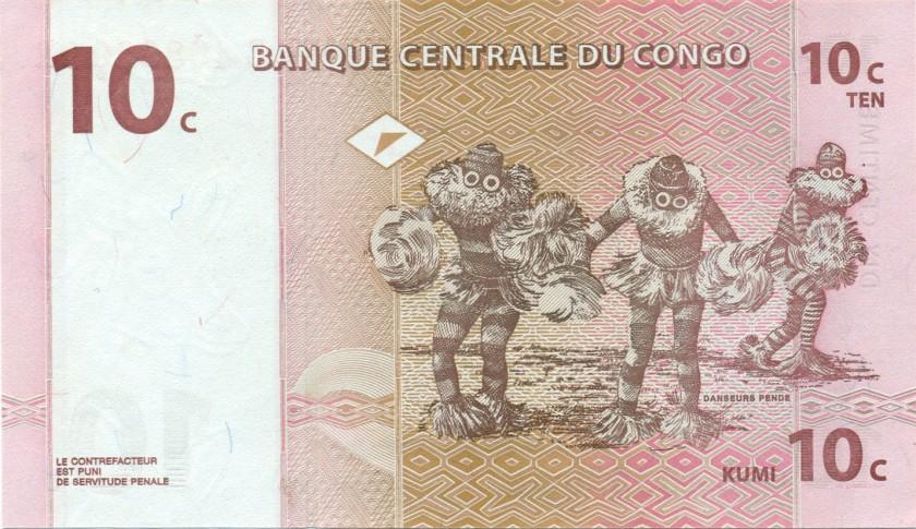 Демократическая Республика Конго(Заир) - валюта Конголезский франк