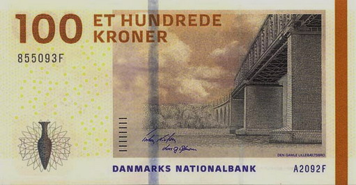 Королевство Дания - валюта Датская крона