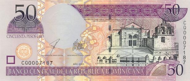 Доминиканская Республика - валюта Доминиканский песо
