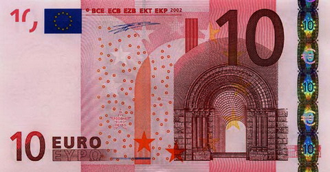 Номинальный ряд валюты ЕВРО - 10