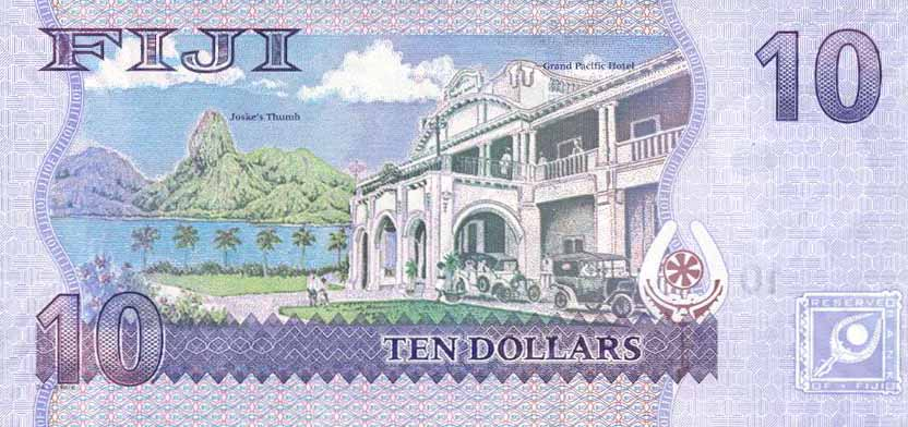 Республика Фиджи - валюта Доллар Фиджи