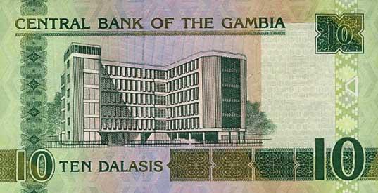 Республика Гамбия - валюта Даласи