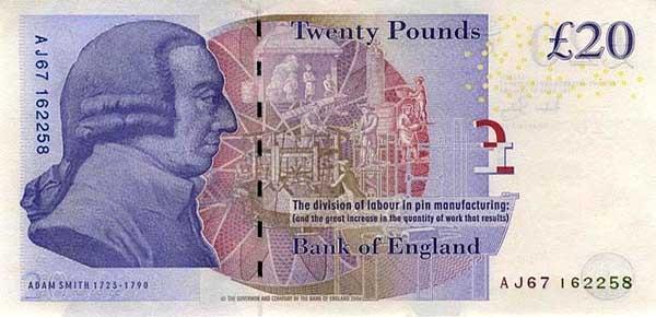 Денежная единица Великобритании - Фунт стерлингов