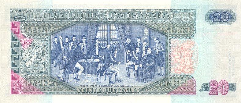 Республика Гватемала - денежная единица Кетсаль