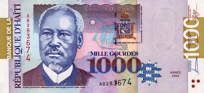Республика Гаити - денежная единица Гурд