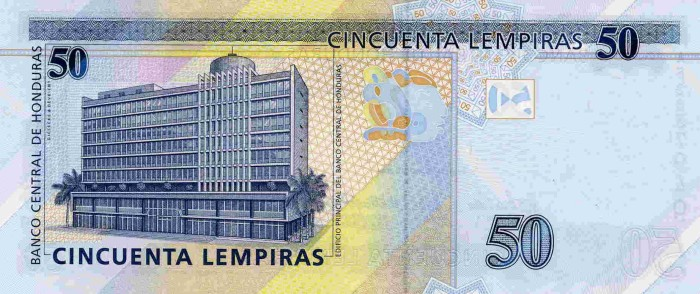 Республика Гондурас - валюта Лемпира