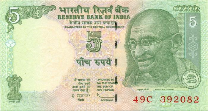 Валюта Индии - Индийская рупия