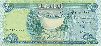 Валюта Республики Ирак - Новый Иракский динар