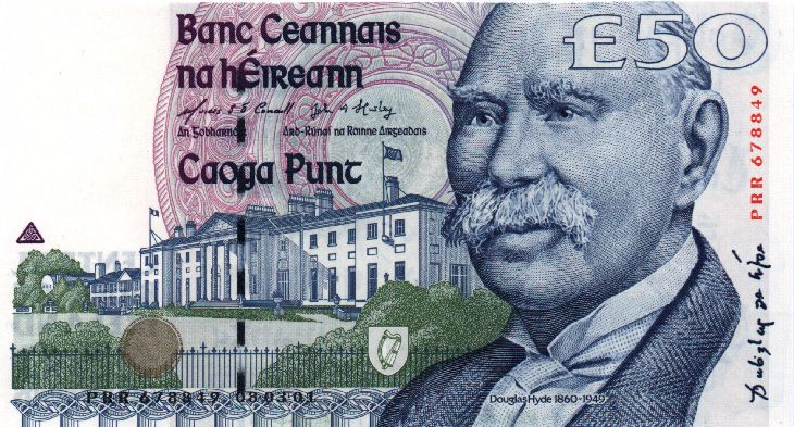 Республика Ирландия - валюта Ирландский фунт (евро)