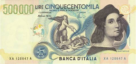 Республика Италия - валюта Итальянская лира (евро)