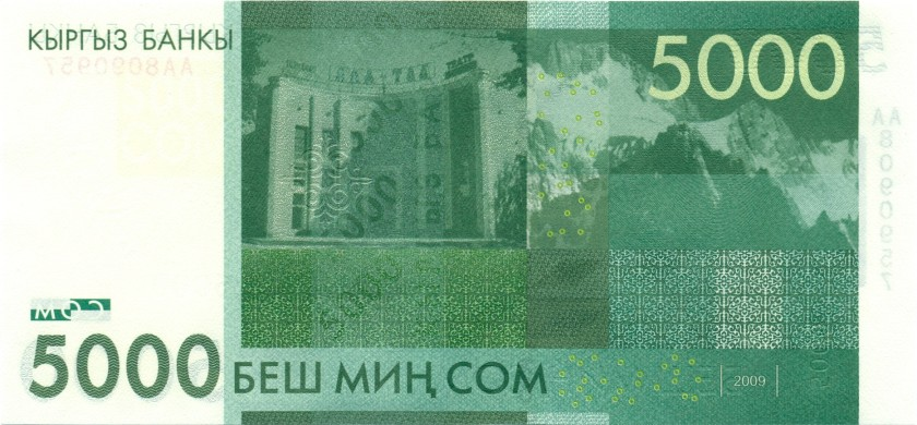 Республика Киргизия - валюта сом