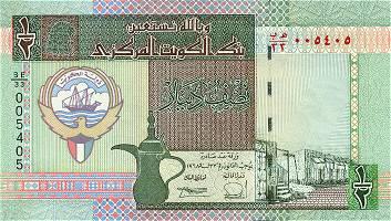 Республика Кувейт - валюта Кувейтский динар