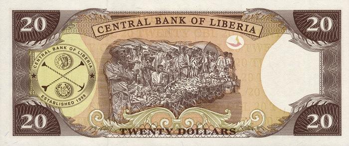 Республика Либерия - денежная единица Либерийский доллар