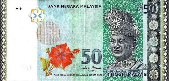 Малайзия - валюта Малазийский ринггит