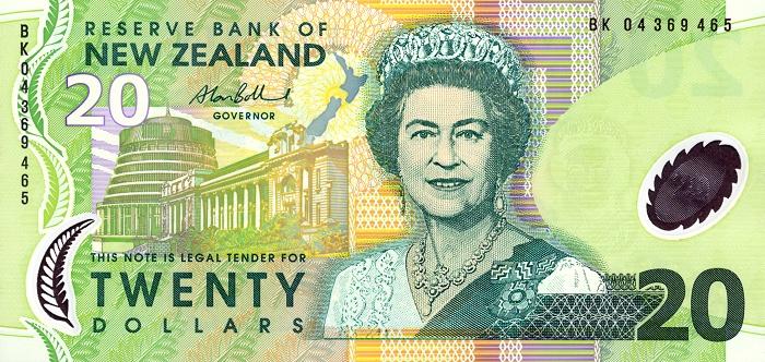 Республика Новая Зеландия - валюта Новозеландский доллар