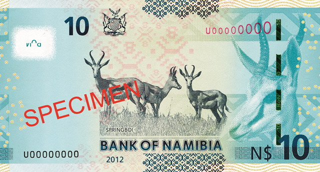 Республика Намибия - валюта Намибийский доллар