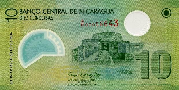 Республика Никарагуа - денежная единица Кордоба